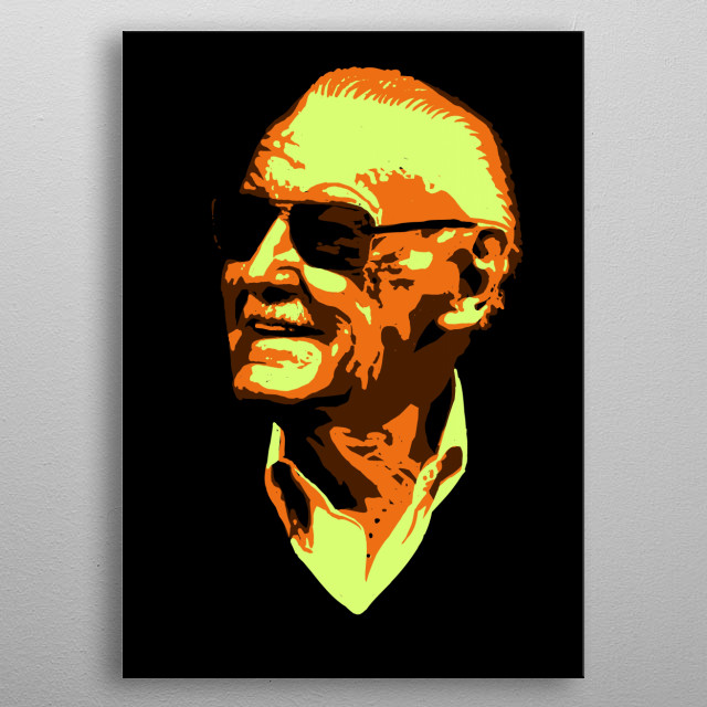 Stan Lee Awesome metal poster