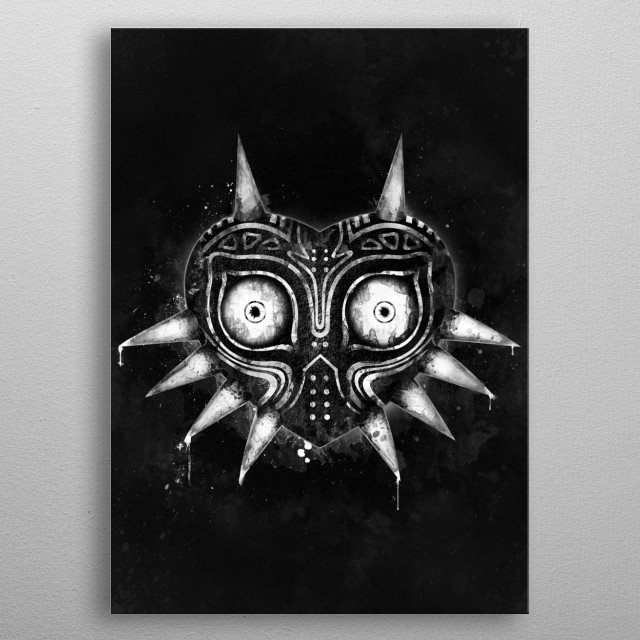 Main villain from the sixth main installment in The Legend of Zelda series. Dark Edition. metal poster