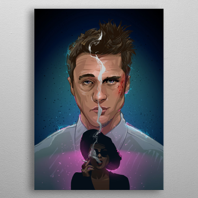 Fight Club 2 metal poster