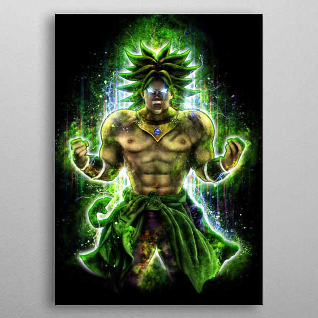 He's back!  metal poster