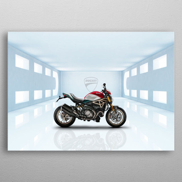 Ducati Monster 1200 Motorbike metal poster
