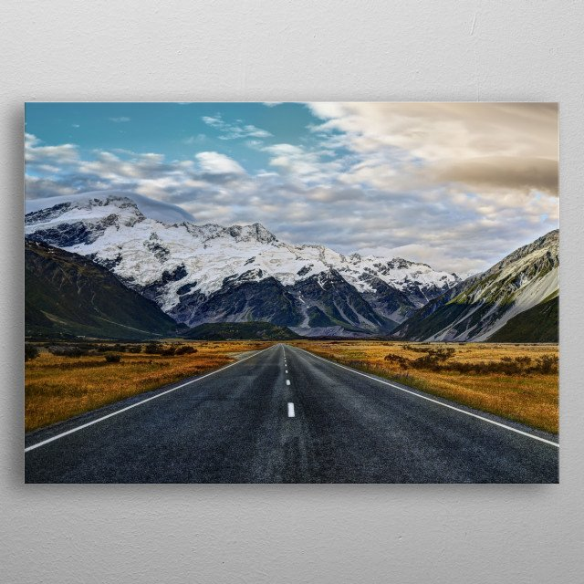 The Rocky Mountains metal poster