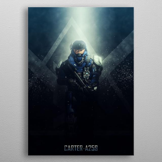 CarterA259 by Rykker o7 | metal posters - Displate