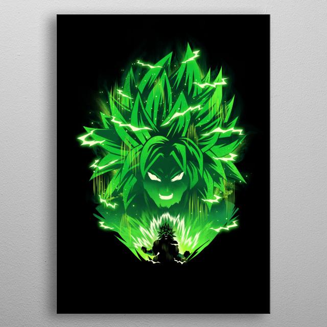 Legendary Full Power metal poster