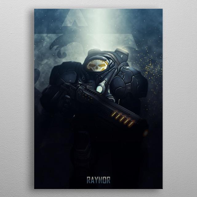 Heroes metal poster