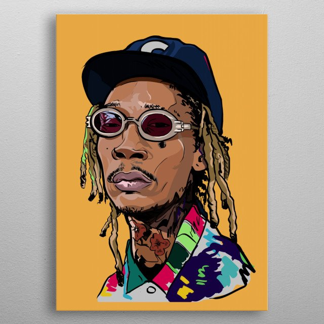 High-quality metal print from amazing My works collection will bring unique style to your space and will show off your personality. metal poster