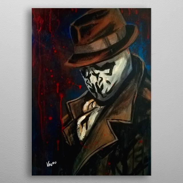 Watchmen - Rorschach metal poster