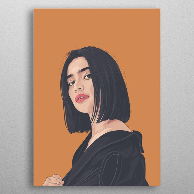 Anne Curtis Smith Vexel Art made by MBBAsup. Anne Curtis Smith is a famous actress Television Host and Sometimes Legit Singer in the PH..... metal poster