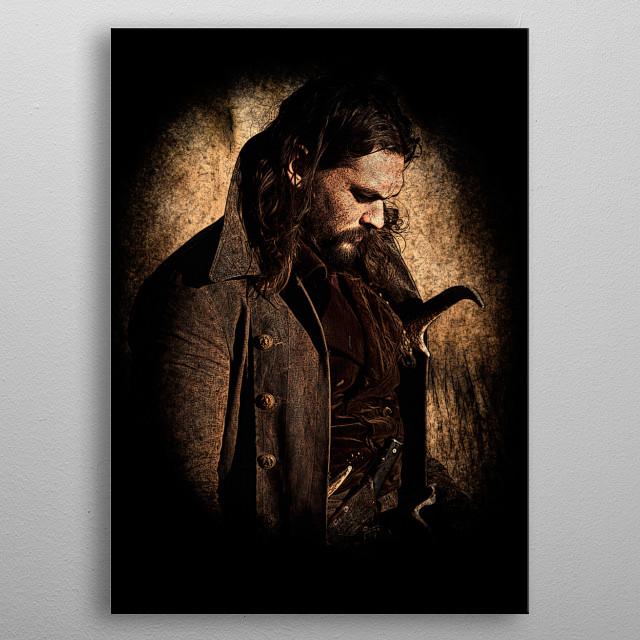 Declan Harp (Jason Momoa) from Frontier metal poster