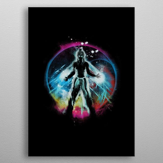avatar korra balancing universe metal poster
