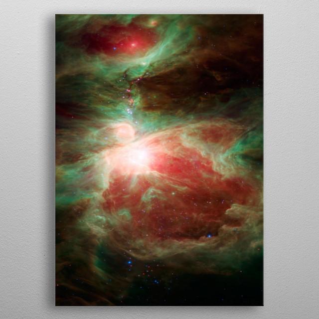 Universe metal poster