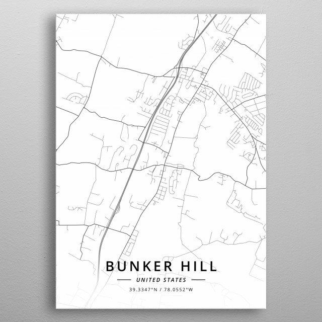 Bunker Hill, United States metal poster