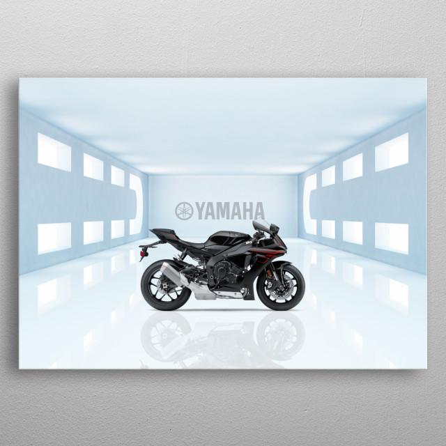 Yamaha YZFR1 Superbike metal poster