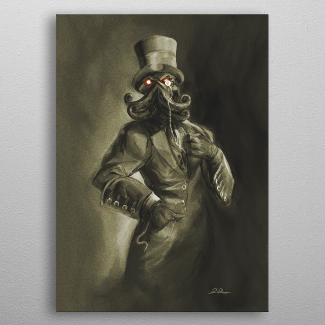 Because complete annihilation needn't be a savage affair.  metal poster
