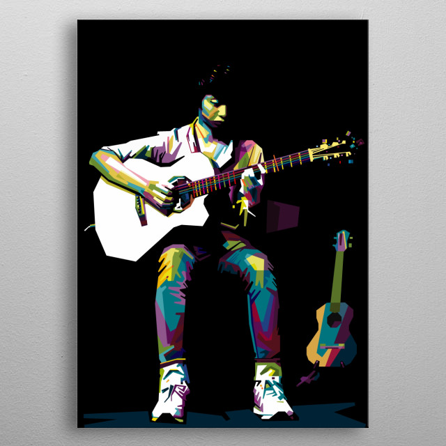 Sungha Jung Contemporary Art Poster Print | metal posters