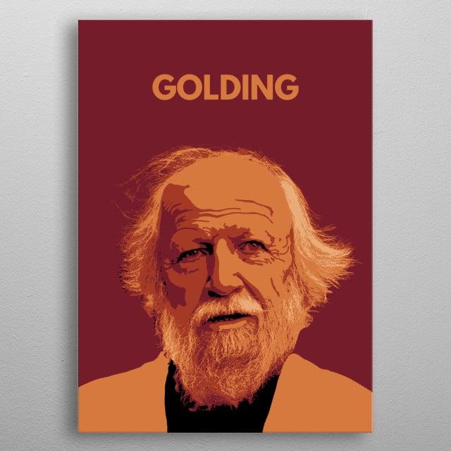 William Golding! metal poster