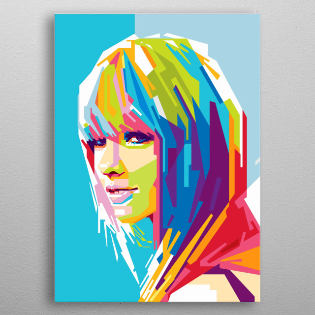 Taylor Alison Swift is an American singer-songwriter. One of the world's leading contemporary recording artists metal poster