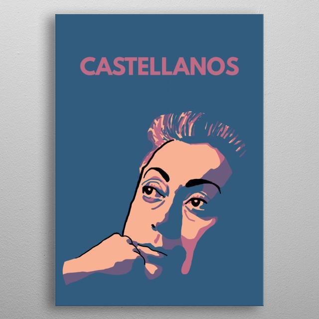 Rosario Castellanos! metal poster