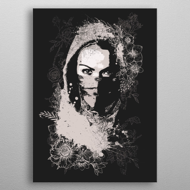 Fascinating  metal poster designed with love by swav. Decorate your space with this design & find daily inspiration in it. metal poster