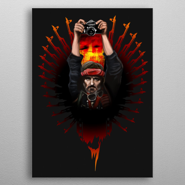 Inspired by the Apocalypse now movie.                                                                                                        metal poster