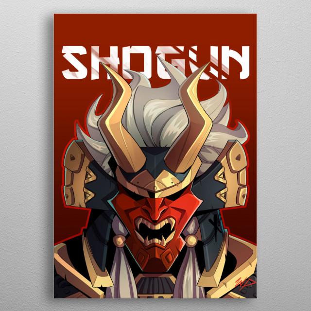 Shogun metal poster
