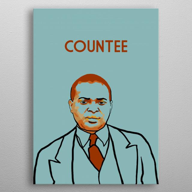 Countee Cullen metal poster