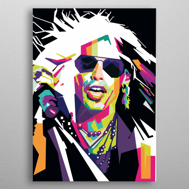 legendary singer of the world metal poster