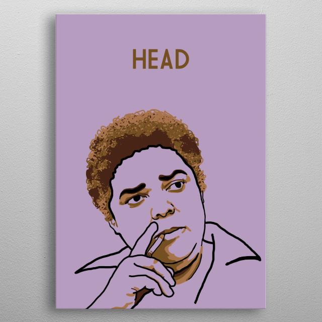 Bessie Head metal poster
