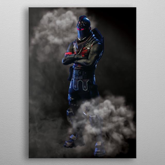 Gamer kit Black Knight right! metal poster