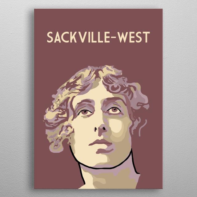 Vita Sackville West metal poster