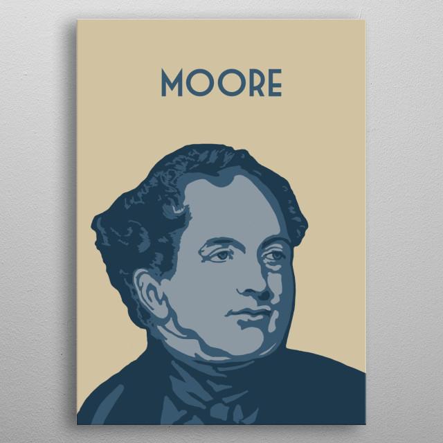 Thomas Moore metal poster