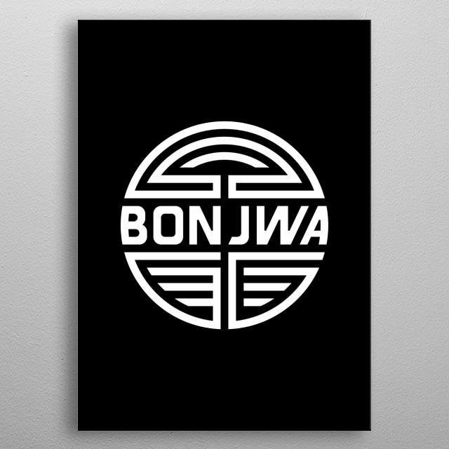 Unser Logo für eure Wand, klassisch weiß auf schwarz. Good Game. Have Fun. metal poster