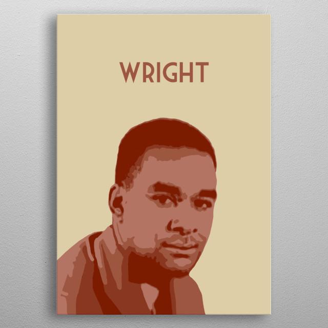 Richard Wright metal poster