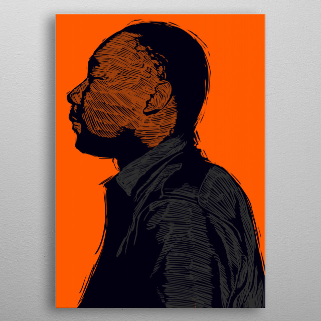 Martin Luther King Jr. metal poster