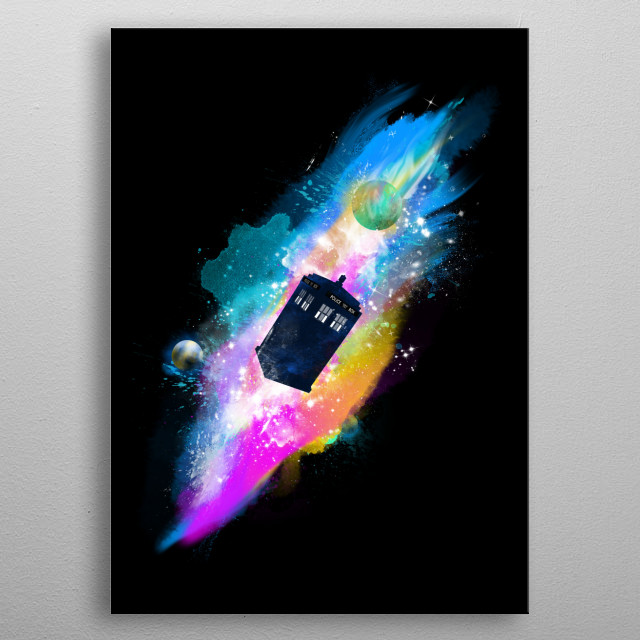 The chameleon circuit was the component of a TARDIS which changed its outer plasmic shell to assume a shape which blended in with its surrou metal poster