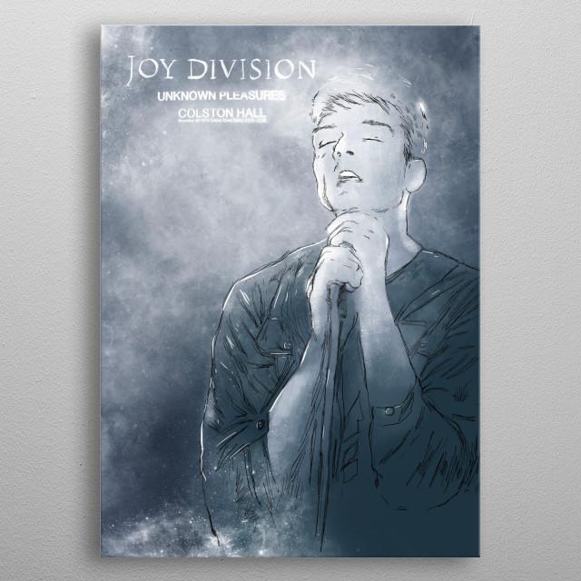 Joy Division metal poster
