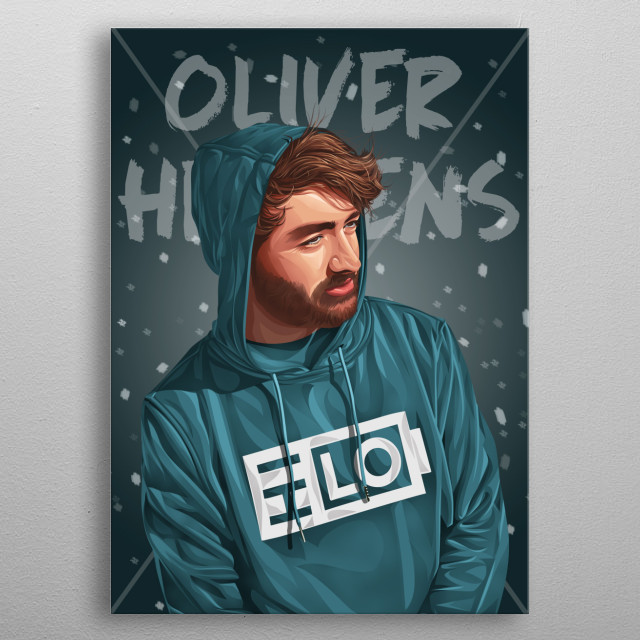 Oliver Heldens international DJs. I make this work for people who are fans. I made this picture with a beautiful touch to make it look cool. metal poster