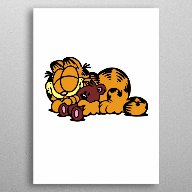 FOR GARFIELD FANS metal poster