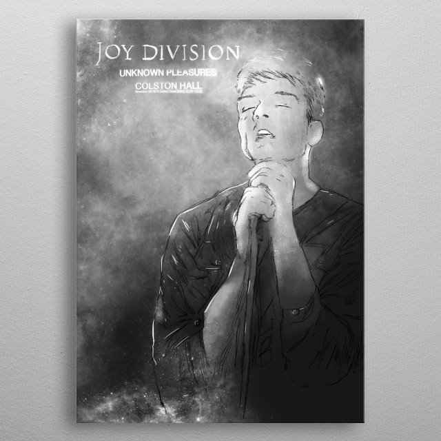 Joy Division GRAY metal poster