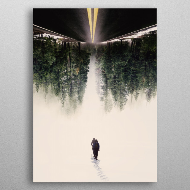 New Journey metal poster
