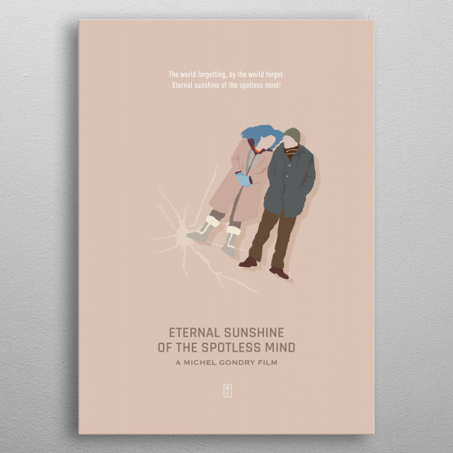 Eternal Sunshine of the Spotless Mind metal poster