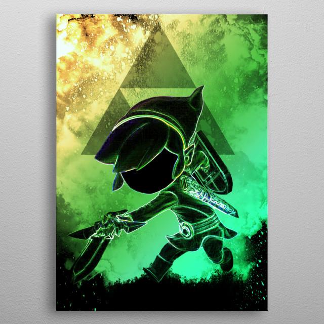 :) metal poster