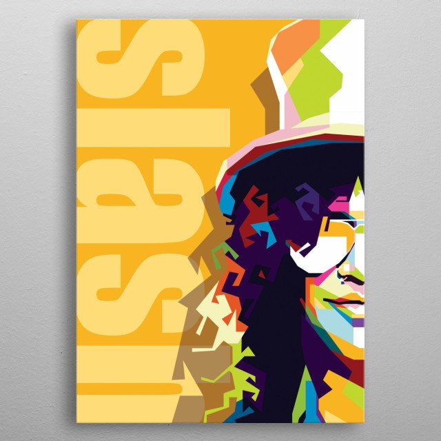 Pop Art of Slash metal poster