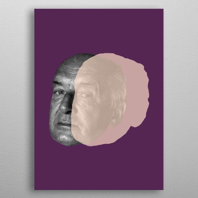 Vladimir Nabokov metal poster