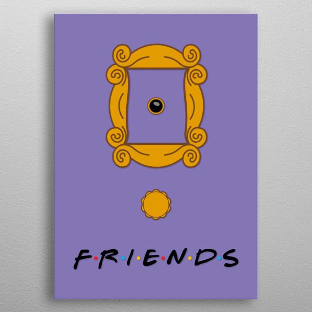 Monica door Friends metal poster
