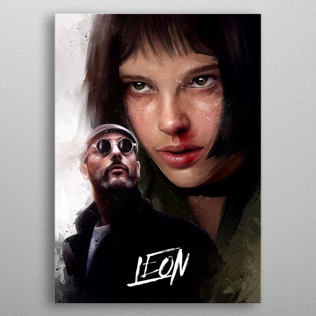 The Professional metal poster