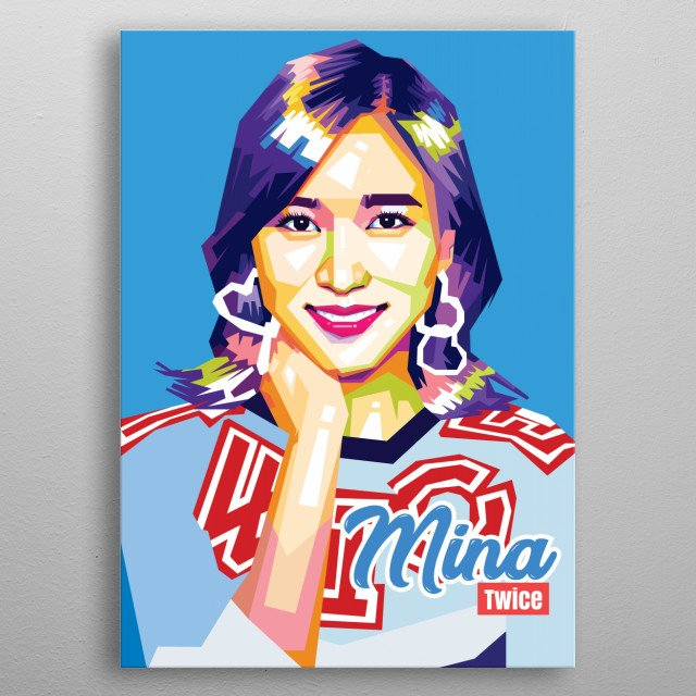 Myoui Mina (born in San Antonio, United States, March 24, 1997; age 21 years), also known as MINA, is a Japanese-American singer. metal poster