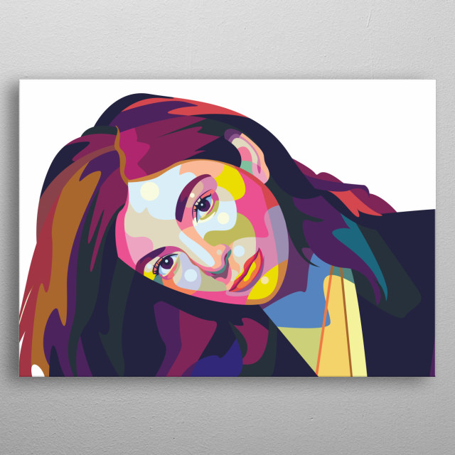 Lorde is a Grammy Award-winning New Zealand singer and songwriter who became an international crossover sensation with her hits 'Royals' and metal poster