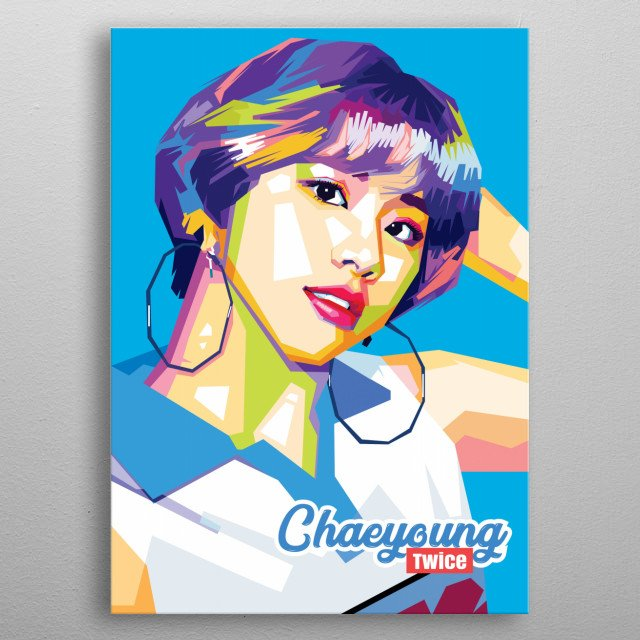 Chaeyoung Twice by Ramlink | metal posters - Displate