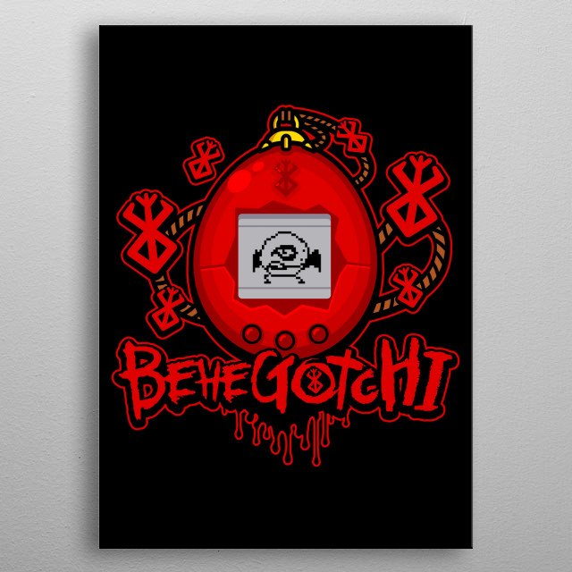 Take care of Grifffith. metal poster